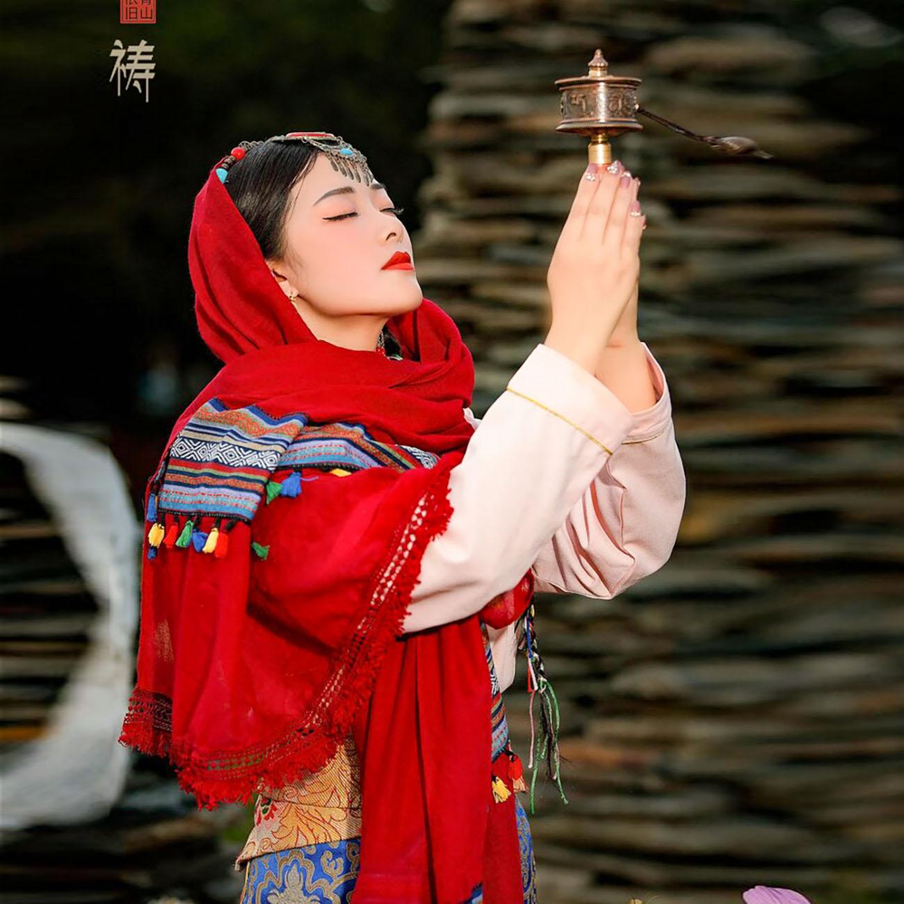 318川藏线人物照片(摄影作品)