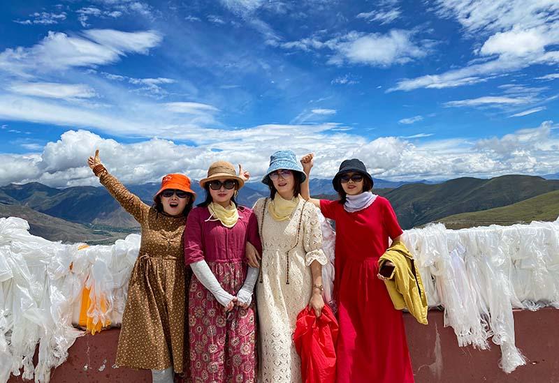 拉萨到成都川藏线自驾游行程路线图攻略